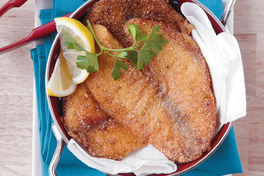 how to pan fry fish southern living