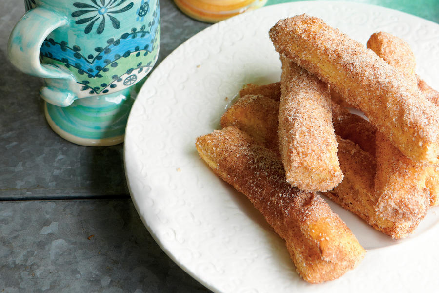 Oven-Baked Churros
