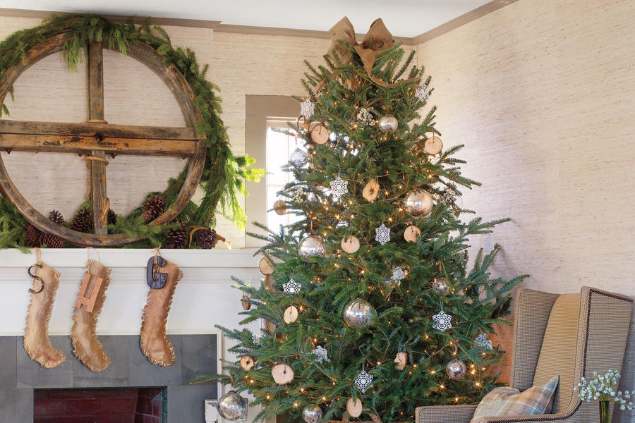 Refined Rustic Christmas Decorations