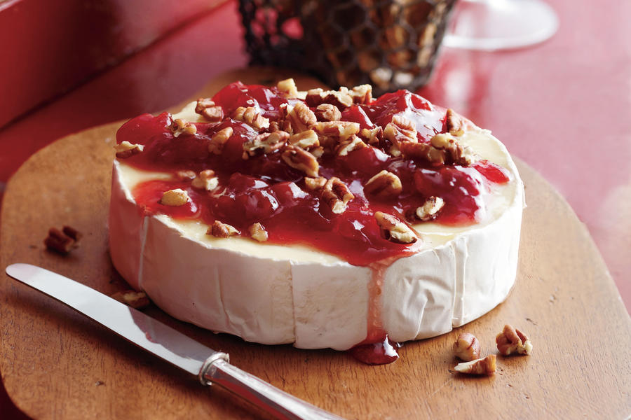 Cherry Pecan Brie Thanksgiving Appetizers Southern Living