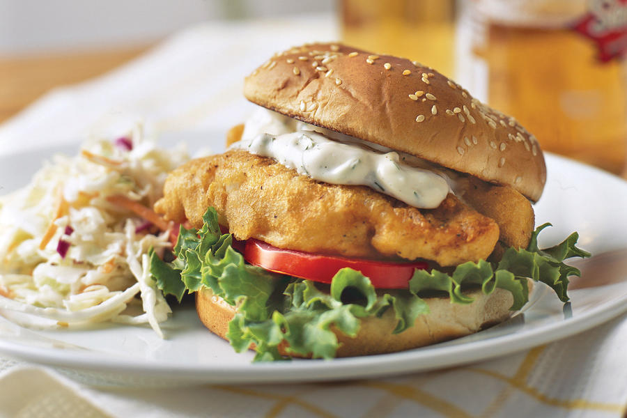 Fried Fish Sandwiches recipe