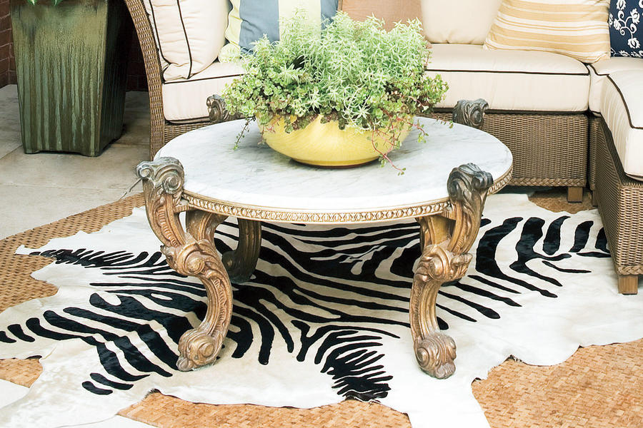 Porch Decorating Ideas: Floor Coverings