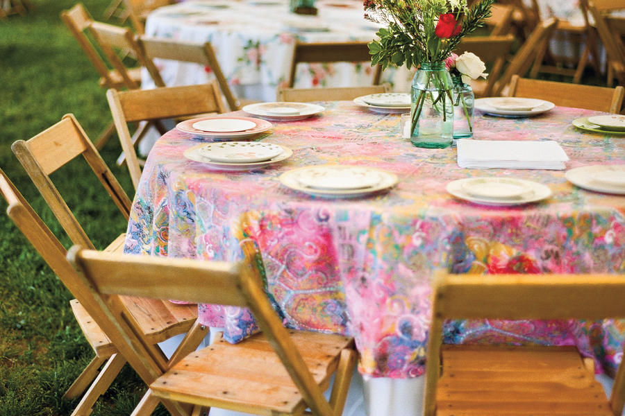 vintage looking tablecloth vintage wedding ideas southern living