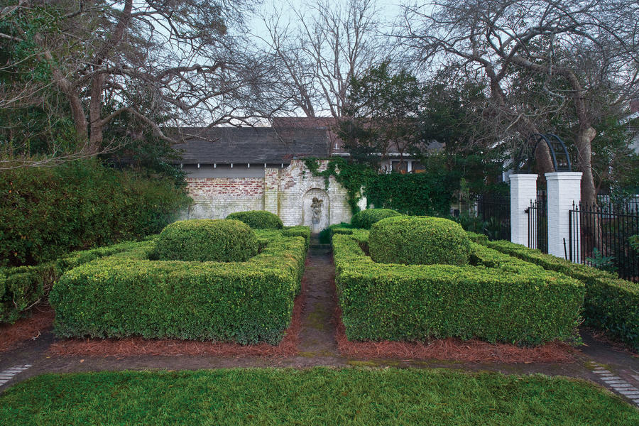 American boxwood garden landscaping with boxwoods for Southern living landscape design