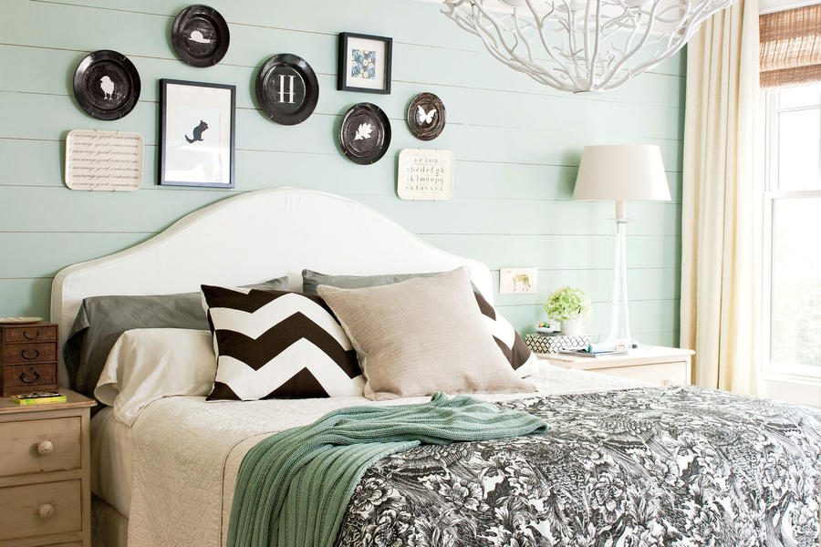 modern drama master bedroom decorating ideas southern living