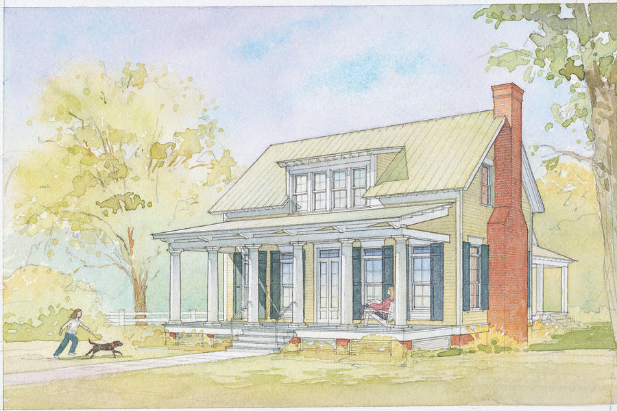 Southern Country Living House Plans