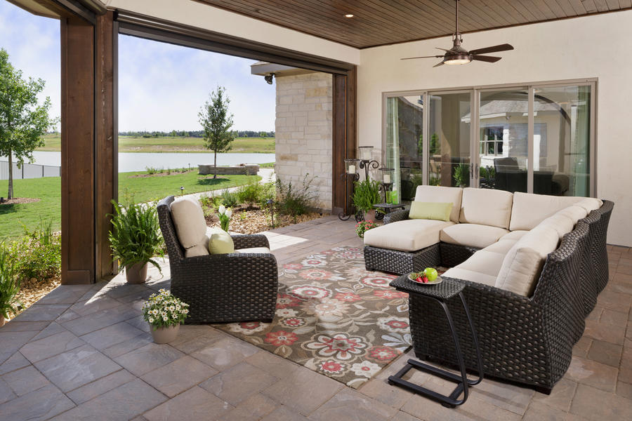 Morning Star Outdoor Living Room - Custom Builder Showcase ... on Southern Outdoor Living id=19446