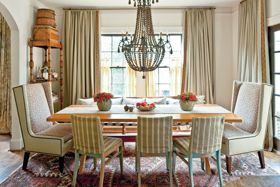 After warmed up dining room dazzling dining room before for Southern dining room