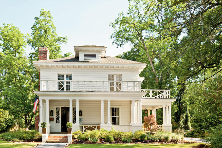 Southern Craftsman-Style Home: After