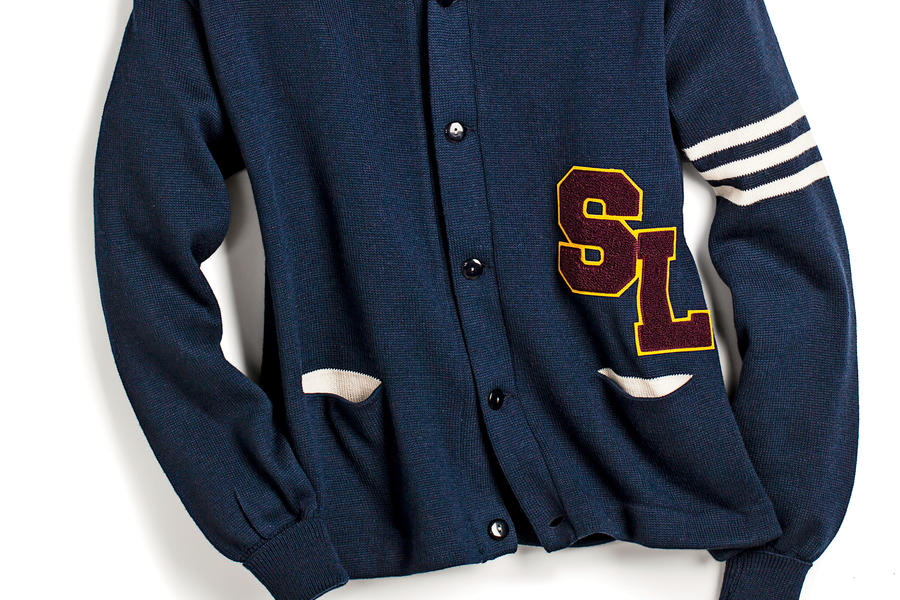 Custom Wool Varsity Sweater