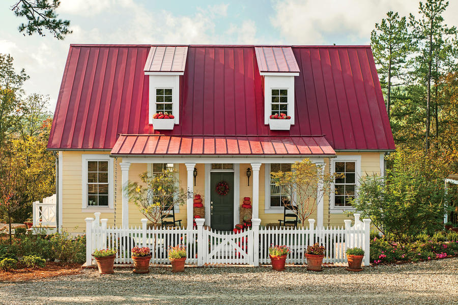 Small Smart Cottage Style Charming Home Exteriors