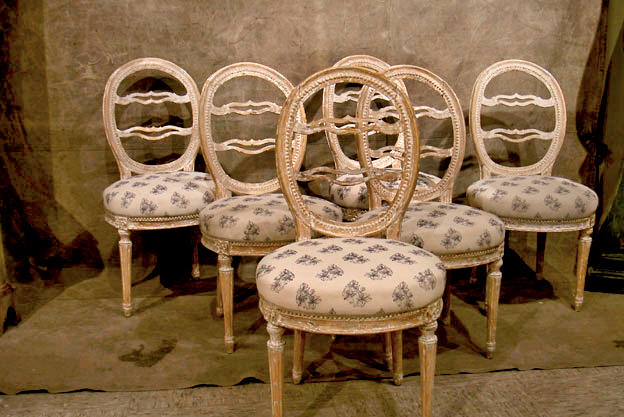 Vintage Chairs Before