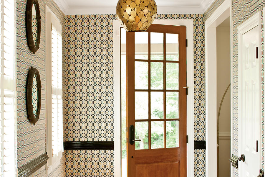 Be Bold with Wallpaper