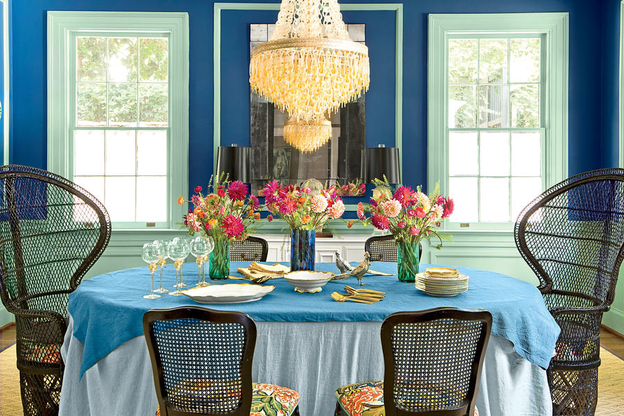 After Bold Bohemian Dining Room Dazzling Dining Room Before And