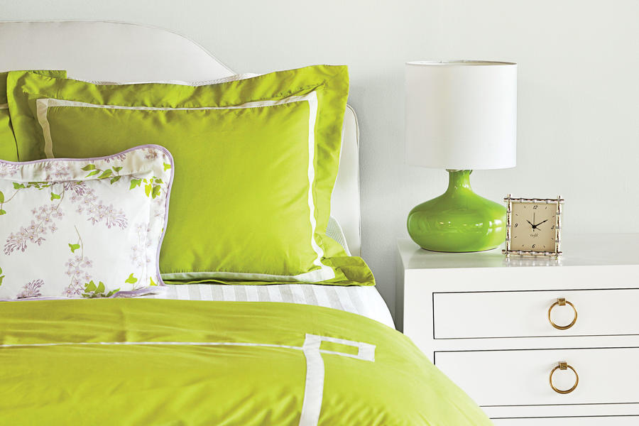 Bold & Vibrant Bedroom Makeover