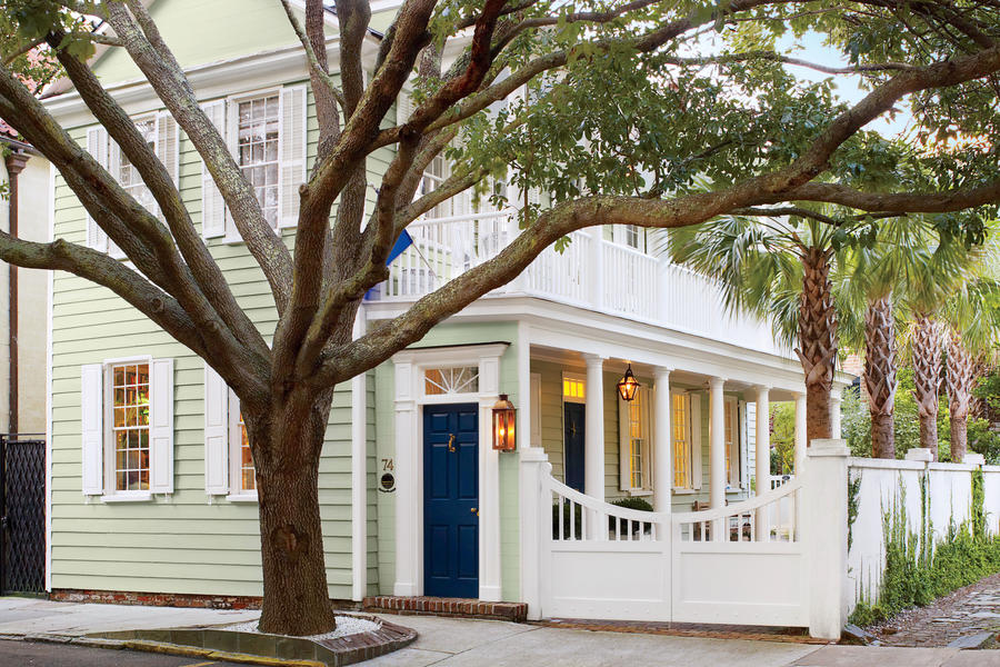 Charleston Single House Charming Home Exteriors
