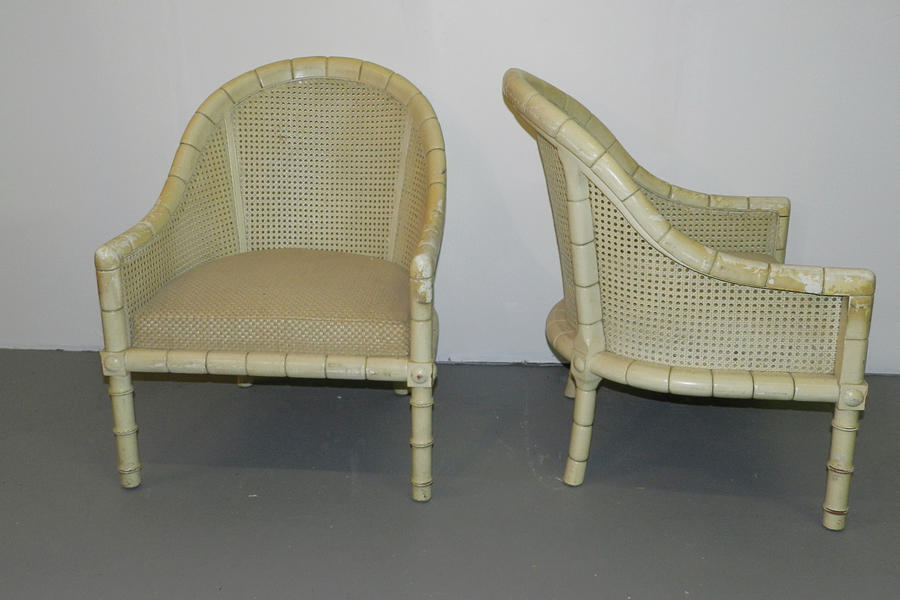 Cane Chair Before