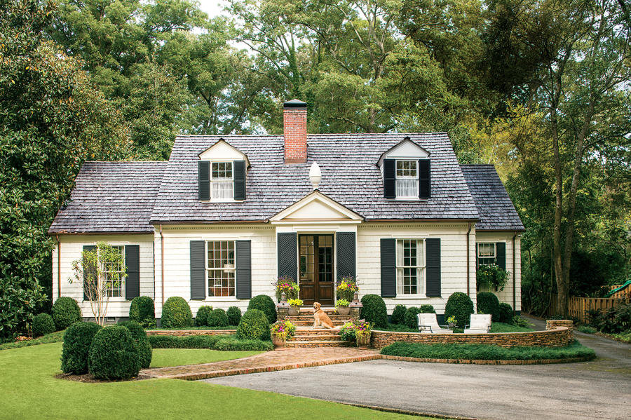 Landscaping Ideas For Cape Cod Style Home Part - 16: Cape Cod Home Landscape Ideas