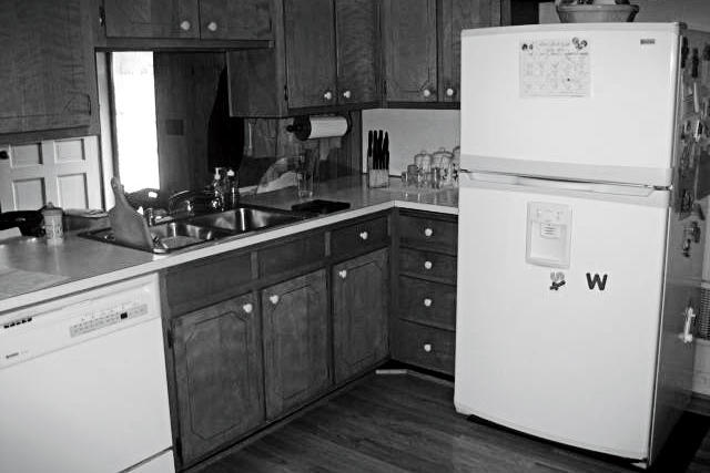 Before: Family-Friendly Kitchen