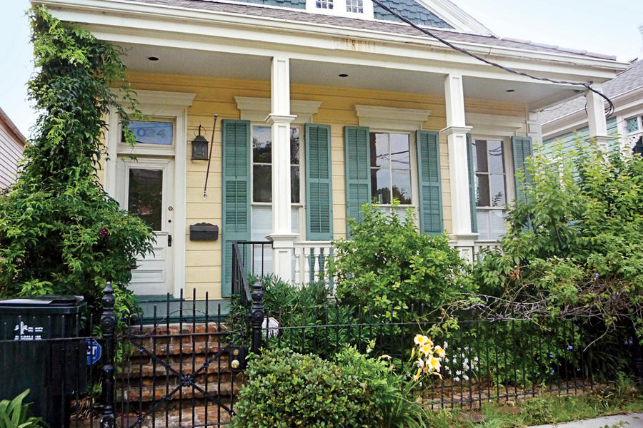 New Orleans Cottage: Before