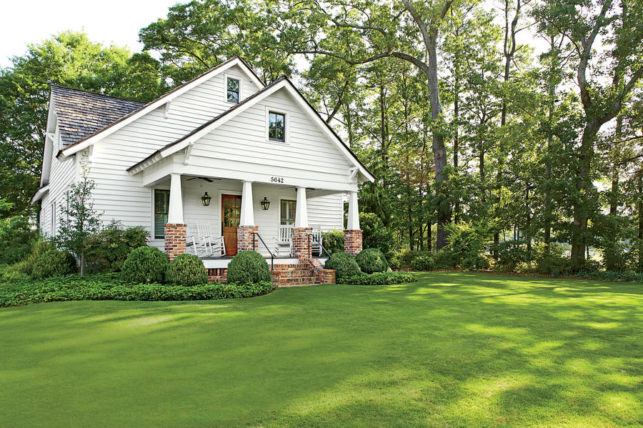 Classic Georgia Bungalow After Exterior Makeovers
