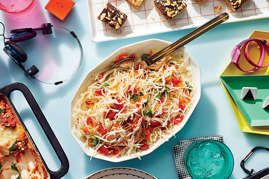 Freezer coleslaw our best barbecue side dish recipes for Easy cold side dishes for christmas
