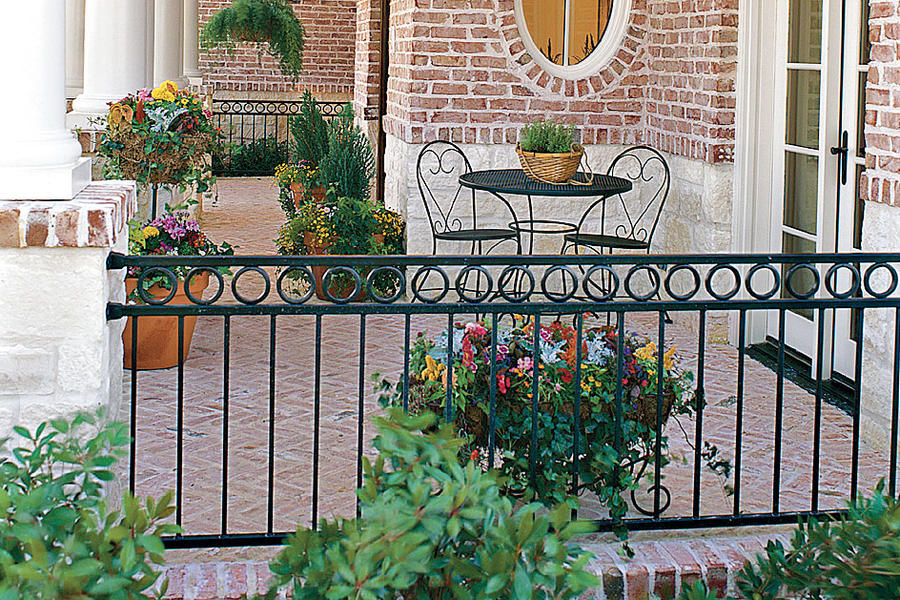 Colorful Potted Porch