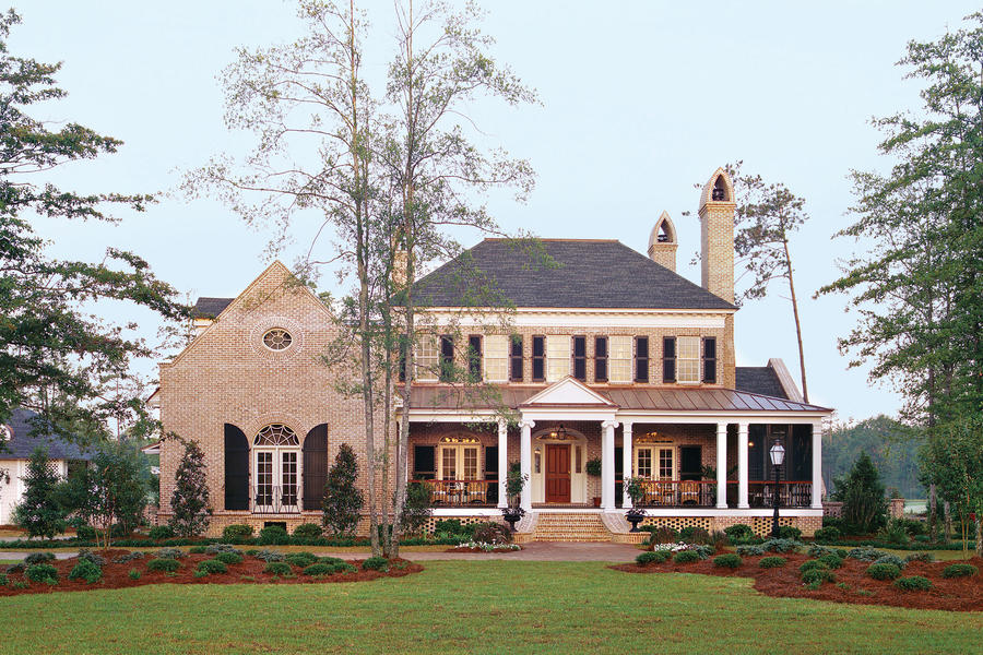 Southern living front porch decorating ideas book covers Home plans with porches southern