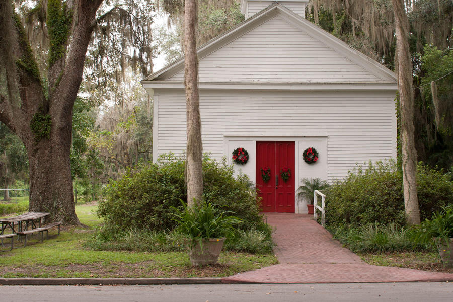 Micanopy, Florida: Episcopal Church of the Mediator