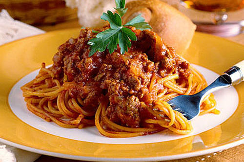 Ground Beef Recipes: All-In-One Spaghetti