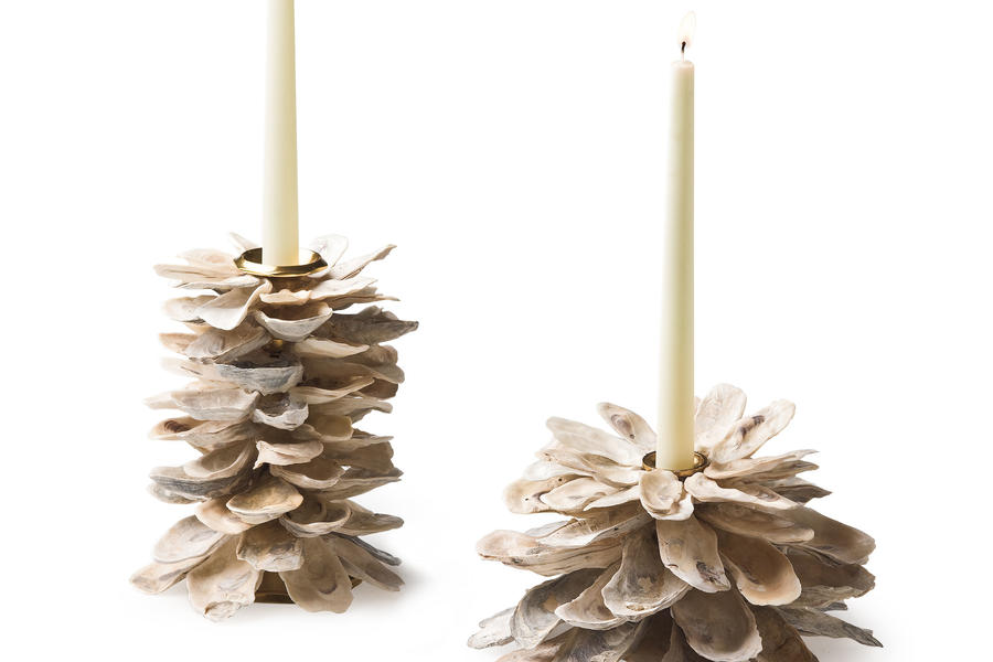 Cabin and Cottage Decorating Accessories: Candleholders