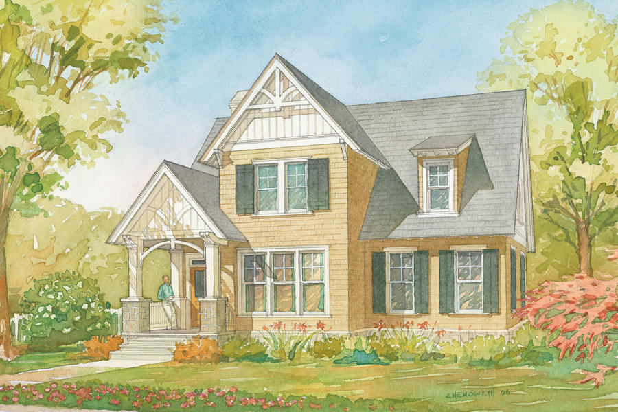 plan 1351 - Small Homes Plans