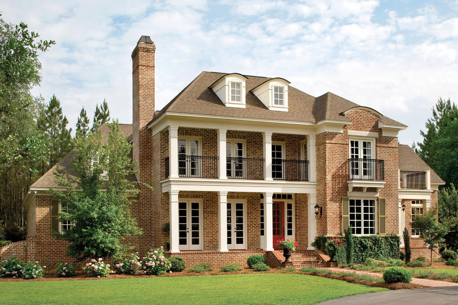 Forest glen plan 238 17 house plans with porches for Southern homes and gardens house plans