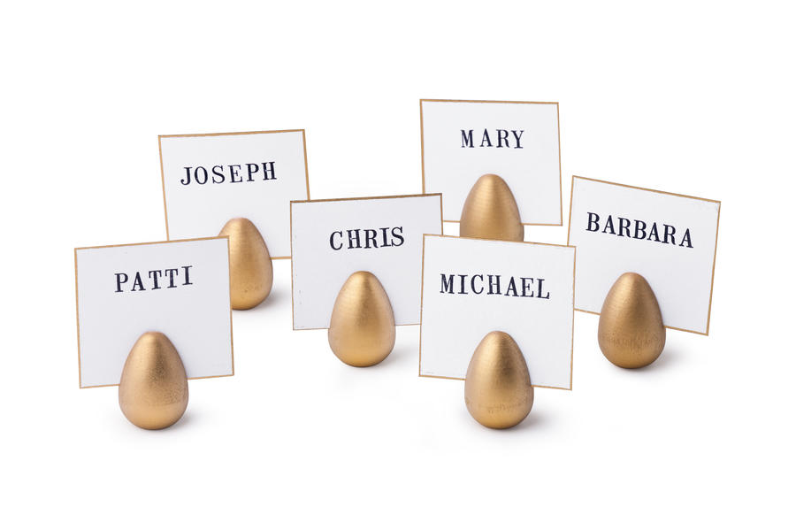 Egg Place Card Holders