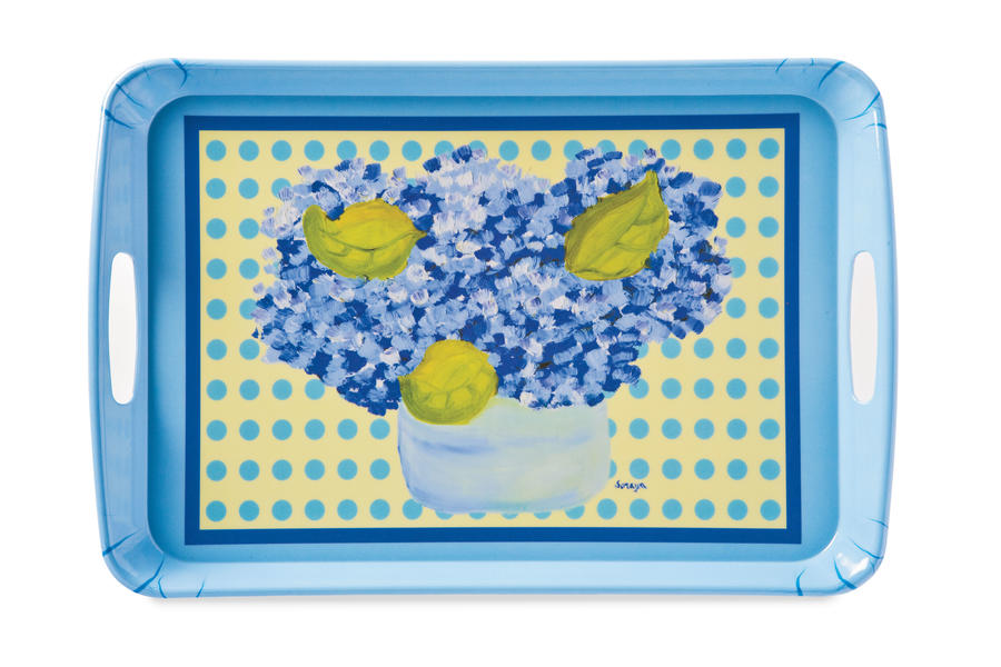 Springtime Must-Have Items: Hydrangea Tray