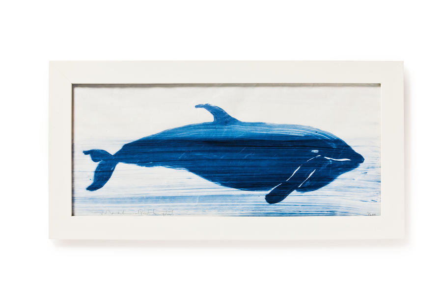 Cabin and Cottage Decorating Accessories: Whale Drawings