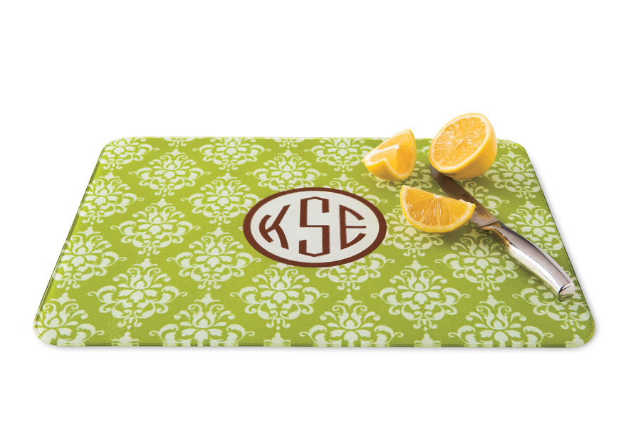 Springtime Must-Have Items:Monogrammed Cutting Board