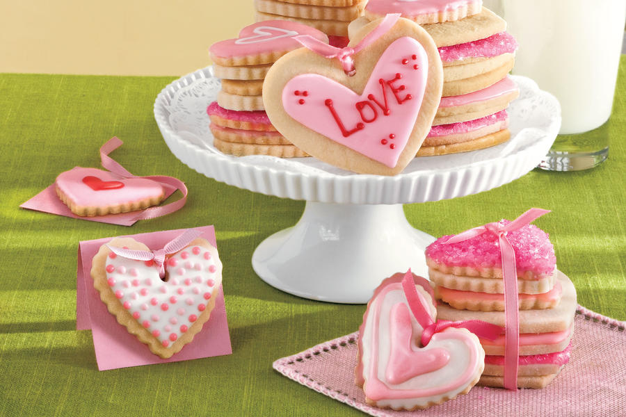 Cookie Valentines