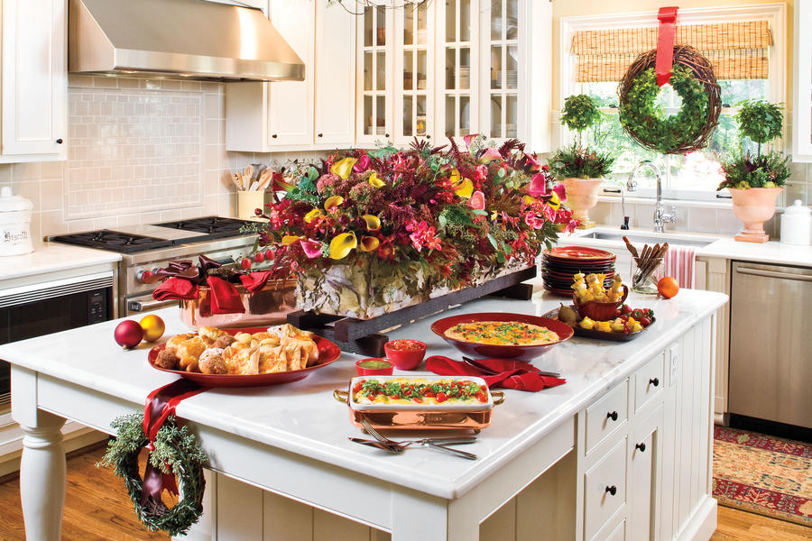 Set Up A Breakfast Buffet 100 Fresh Christmas Decorating