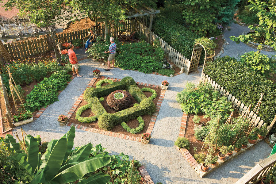 V is for Vegetable Garden Entertaining Outdoor Spaces