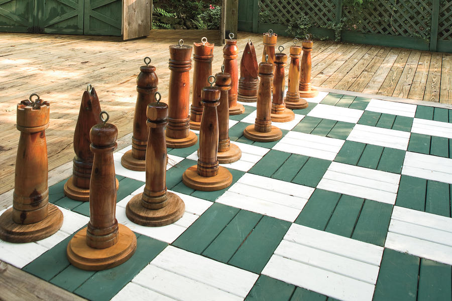 Life-Size Chess Board