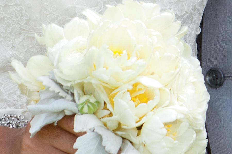 Dainty Tulip and Ranunculus Bouquet