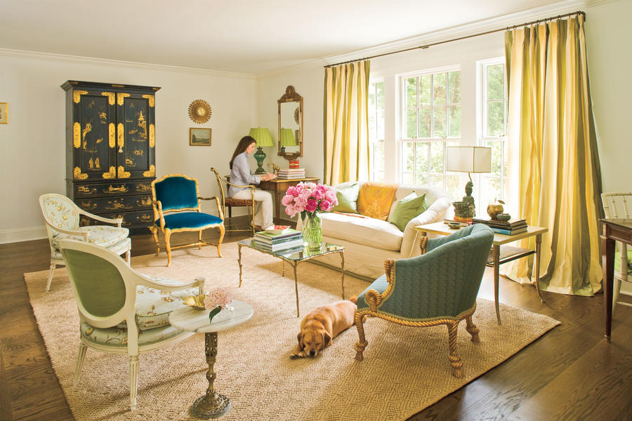 Dog Friendly Living Room Cute Overload Adorable Pups In Pretty Rooms Southern Living