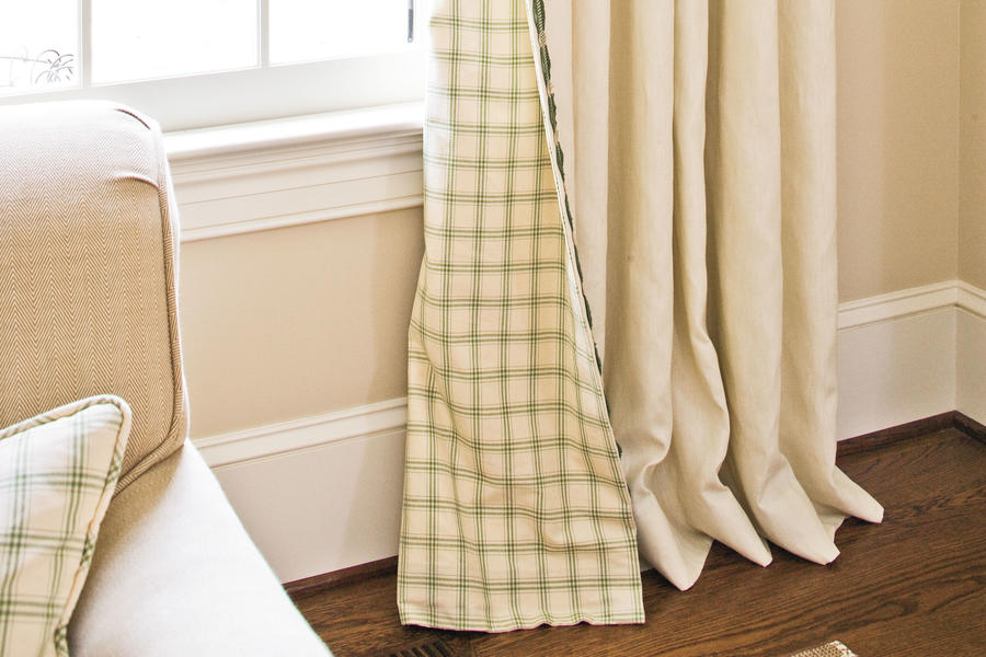 try reversible panels window treatments southern living