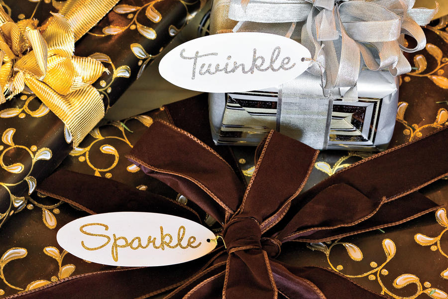 Christmas Decorating Ideas: Gift Tags