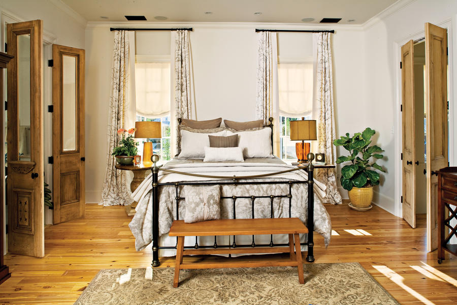 Neutral Retreat - Master Bedroom Decorating Ideas - Southern Living