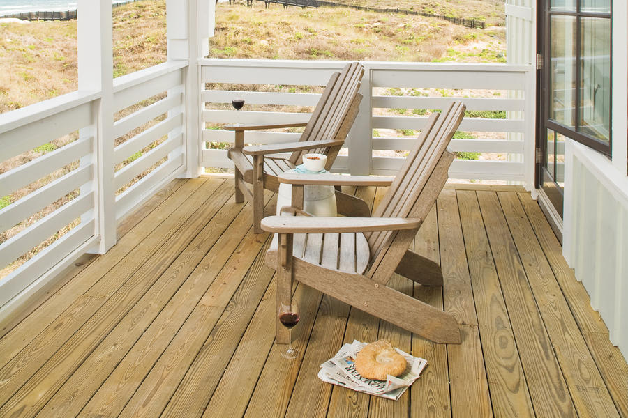 Traditional Beach Deck