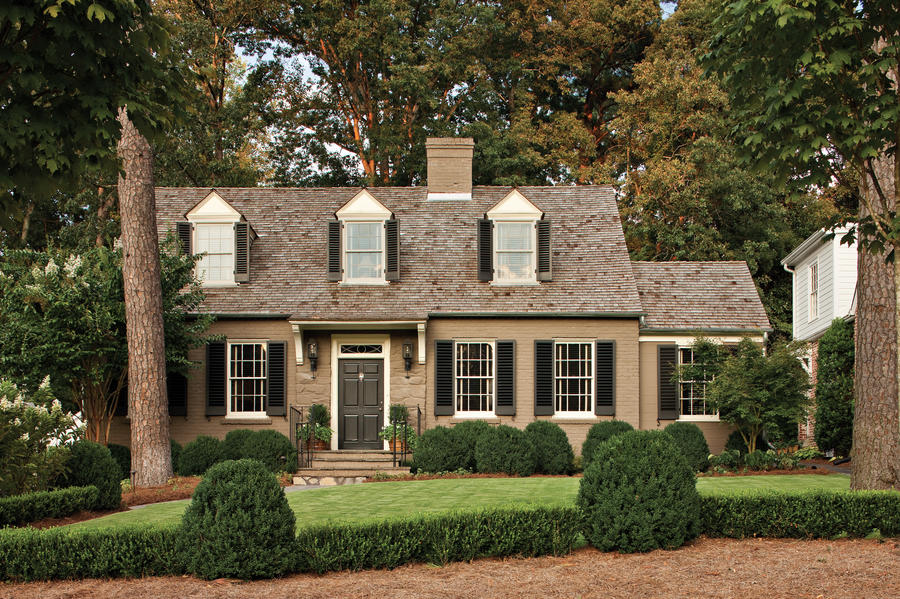 Cape Cod Cottage After Exterior Makeovers Before And After Southern Living