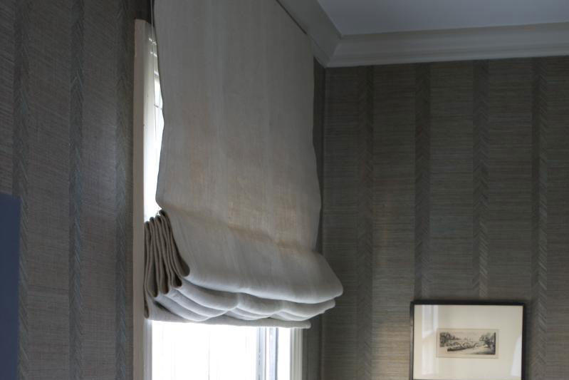 Guest Bedroom Makeovers: Roman Shades