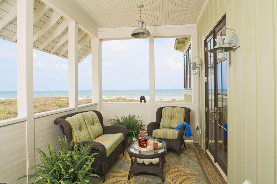 Private Porch Beach Decorating Ideas Outdoor Spaces